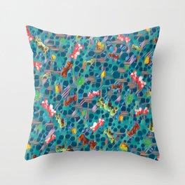 Fungal Spawn. Throw Pillow
