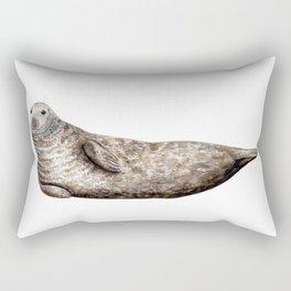Grey Seal (Halichoerus grypus) Rectangular Pillow