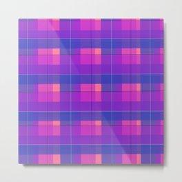 Genderfluid (pattern) Metal Print