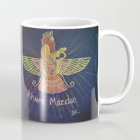 verse Mugs featuring Old Persian Verse by Brusling