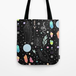 Crystal Witch Starter Kit - Illustration Tote Bag
