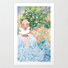 april Art Print