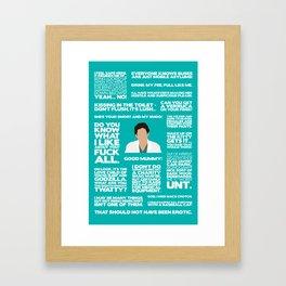Green Wing - Guy Framed Art Print