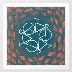 Bike-Cycle Art Print