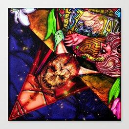 Intergalactic Guardian Key Canvas Print