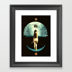 luna abandons the dybbuk Framed Art Print