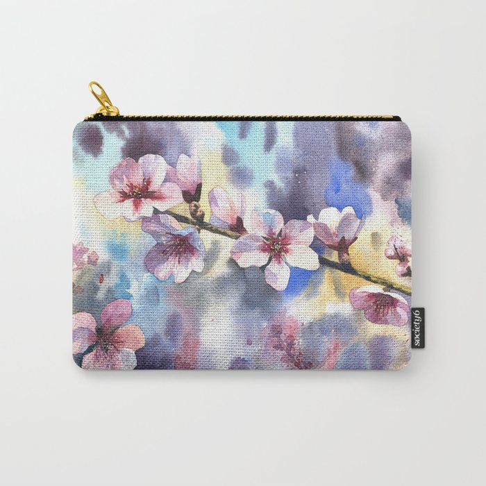 Blossoming almond Carry-All Pouch