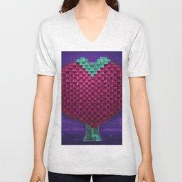 Tree Heart for Lovers Unisex V-Neck