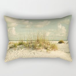 Tropical Beach Vibes Rectangular Pillow