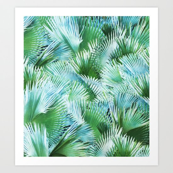 Palm Dreamer #society6 #decor #buyart Art Print