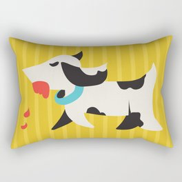 Zombie Dog Harriet Rectangular Pillow