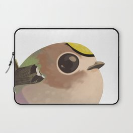 Tiny fat goldcrest Laptop Sleeve