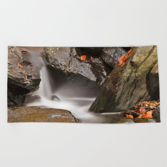 Glen Artney Stream Beach Towel