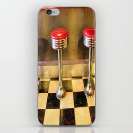 olde time stools iPhone Skin