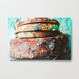 mixed metal race to cake Metal Print