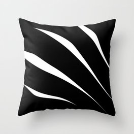 Negative Claw Throw Pillow