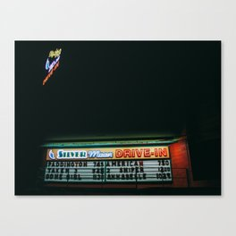 What's Playing Tonight? Canvas Print