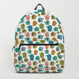 Pattern Project / Dogs Backpack