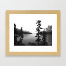 Maligne Lake Alberta Framed Art Print