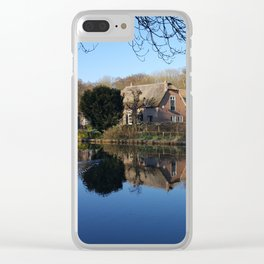 Dreamhouse Between the Blues Clear iPhone Case