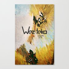 The Glorious Defeat… Wezteka Union Canvas Print