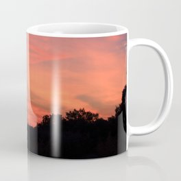 Summer Sunset over Southern France Coffee Mug