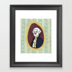 George Washington Framed Art Print