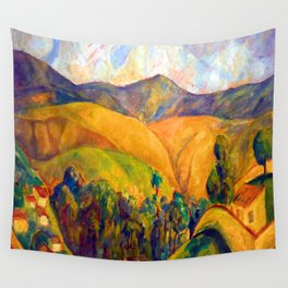 Diego Rivera Landscape Wall Tapestry