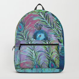 Tail of the Peacock Backpack