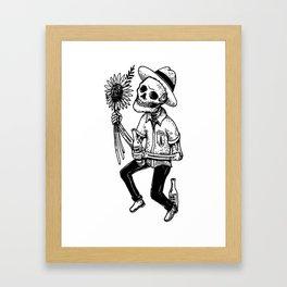 Love cold Framed Art Print