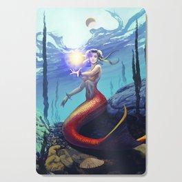 Mermaid Chun Li Cutting Board
