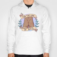 heymonster Hoodies featuring Butts A by heymonster