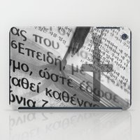 bible verses iPad Cases featuring Multilingual Bible Study by Clayton Jones
