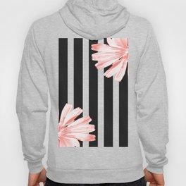 Cichoriums on stripes Hoody