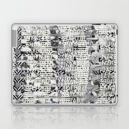The Eternal Return Of The Unique Event (P/D3 Glitch Collage Studies) Laptop & iPad Skin