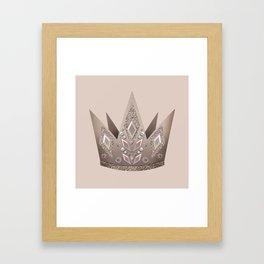 Crown, Queen, Princess Framed Art Print