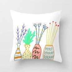 plants, plant, flowers, Throw Pillow