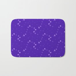 Simple Geometric Pattern 3 pp Bath Mat