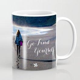 Go Find Yourself Coffee Mug
