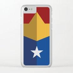 Wonder, hero, Woman, DC Clear iPhone Case