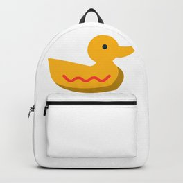 Cartoon Duck Toy Icon Backpack