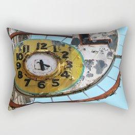 Hotel Clock Rectangular Pillow