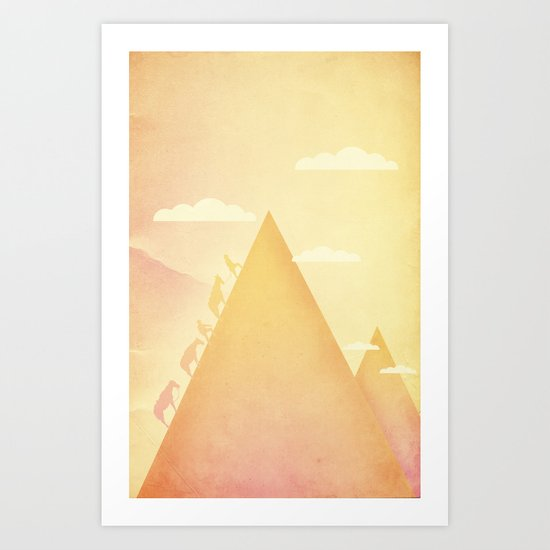ascent Art Print