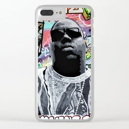 Brooklyns Finest Clear iPhone Case