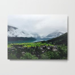 Escape into the forest Metal Print