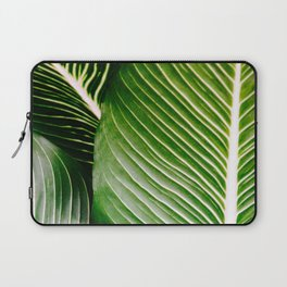 Big Leaves - Tropical Nature Photography Laptop Sleeve