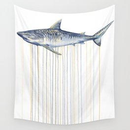 Tiger Shark Wall Tapestry
