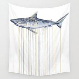 Tiger Shark Wall Tapestry