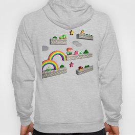 Inside Rainbow Islands Hoody