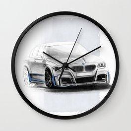 Bavarian car M5 F10 Artrace body-kit Wall Clock